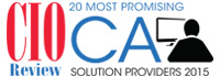 20 Most Promising CA Solution Providers - 2015